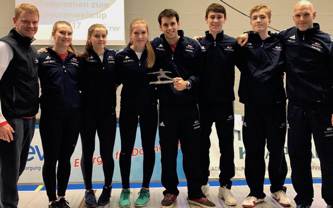 Bronze For U20 GB Sabre Team